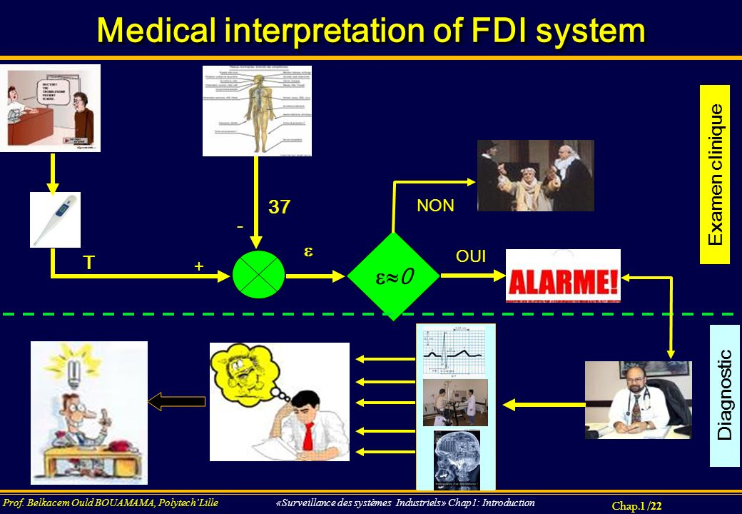 Medical interpretation of FDI system