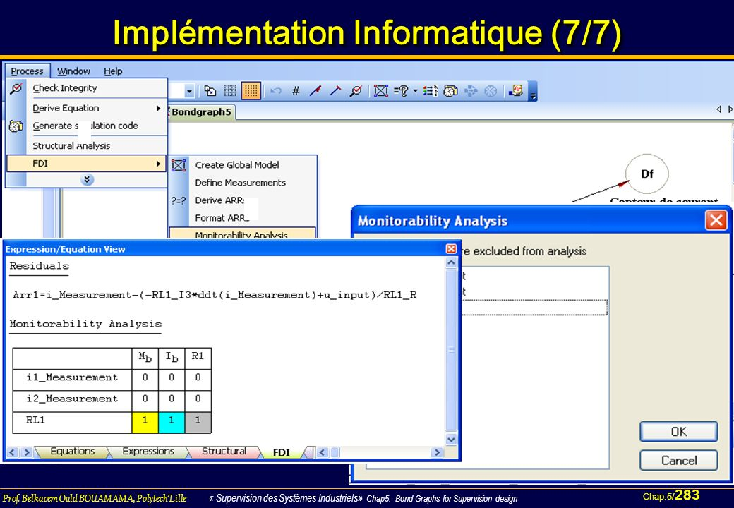 Implémentation Informatique (7/7)