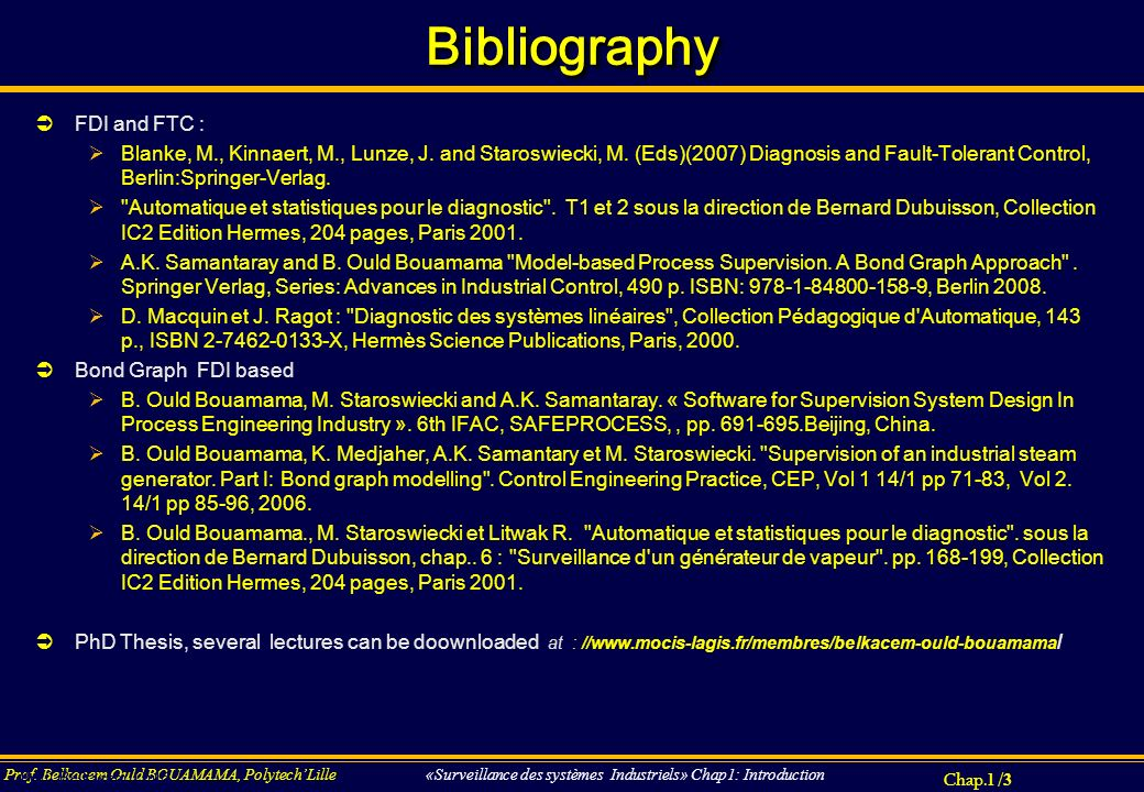 Bibliography FDI and FTC :
