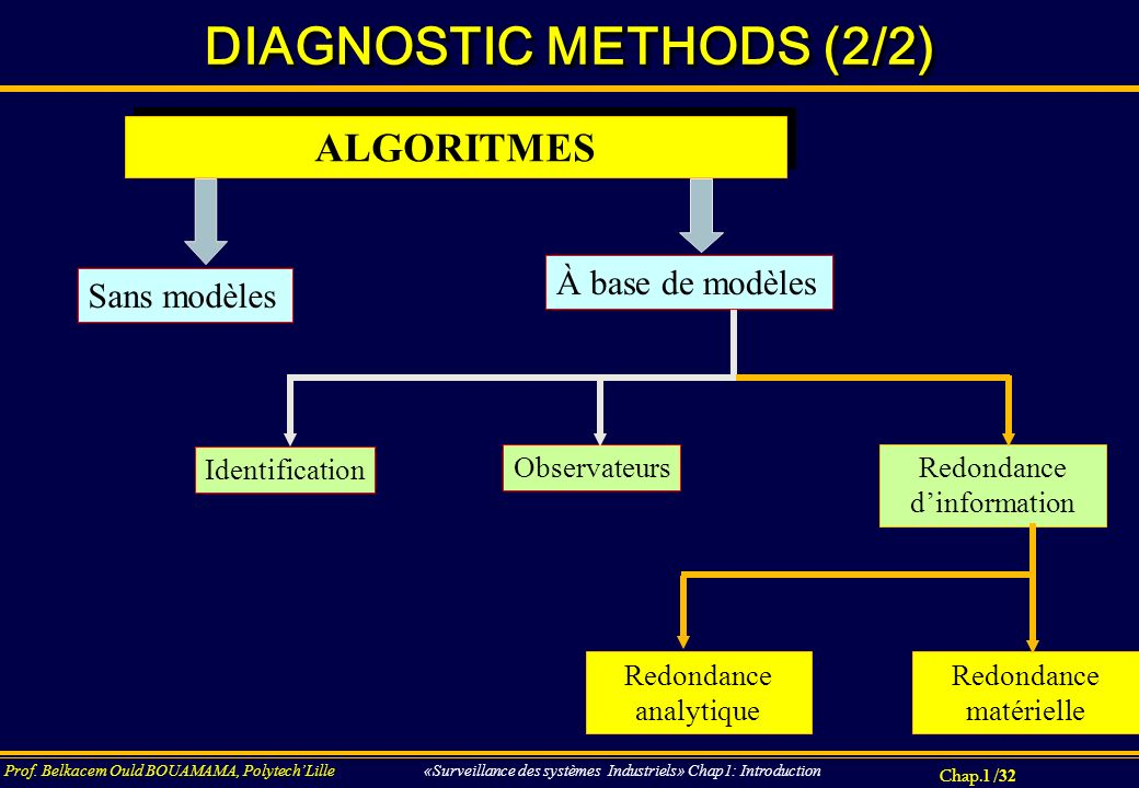 DIAGNOSTIC METHODS (2/2)