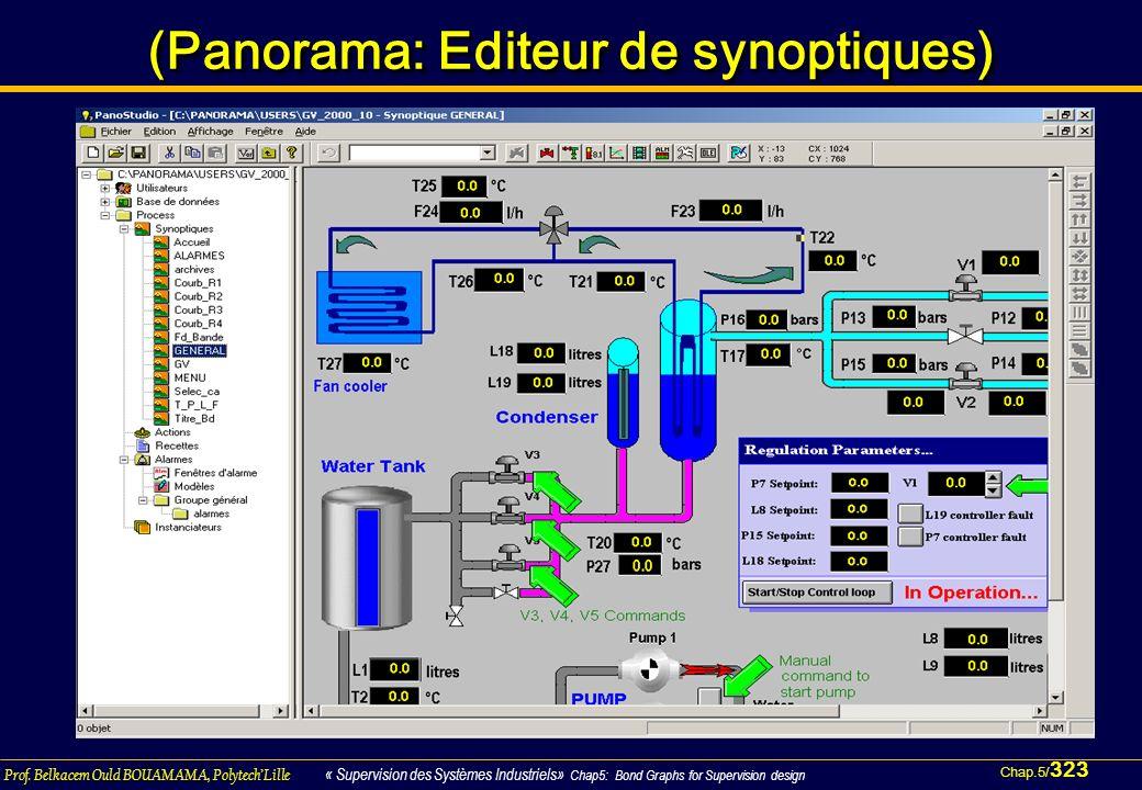 (Panorama: Editeur de synoptiques)