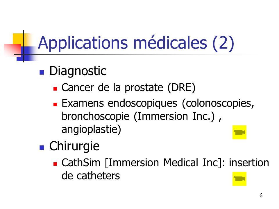 Applications médicales (2)