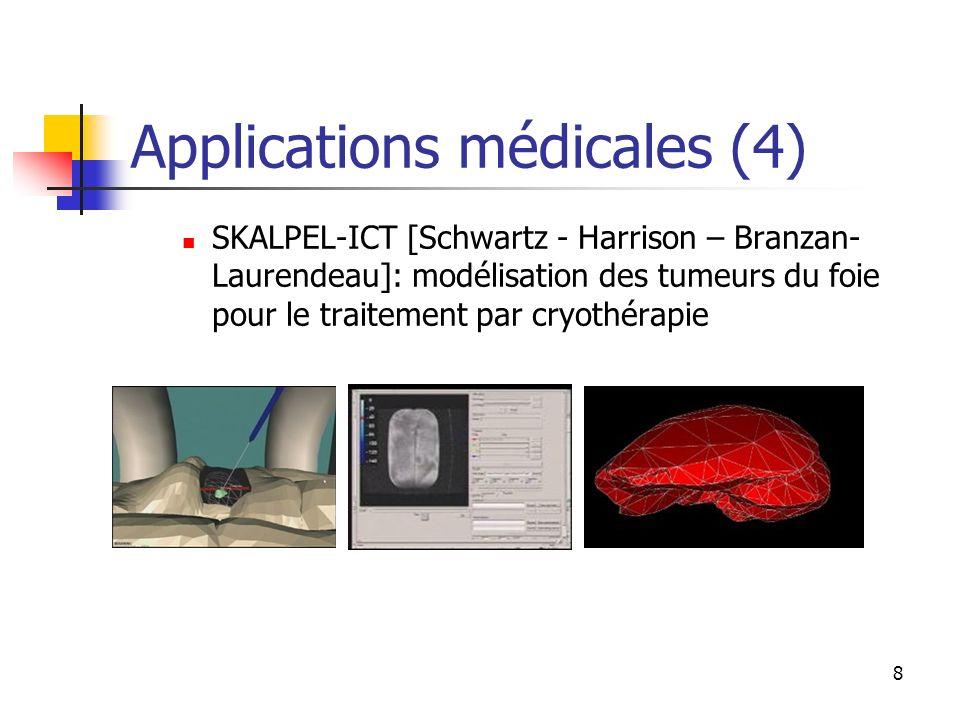 Applications médicales (4)