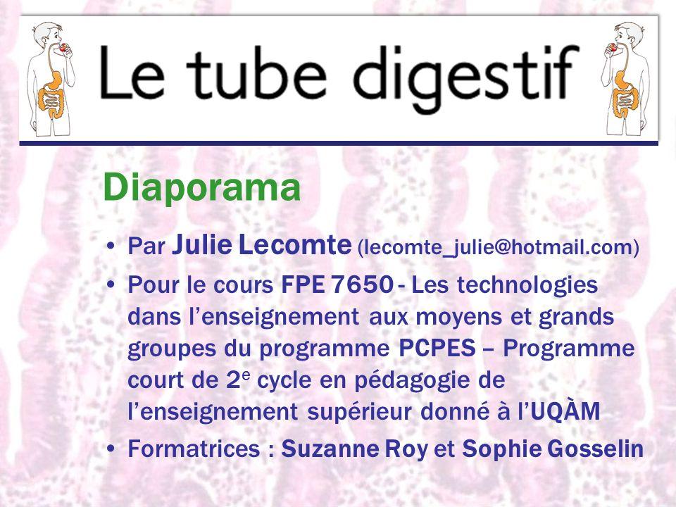 Diaporama Par Julie Lecomte (lecomte_julie@hotmail.com)