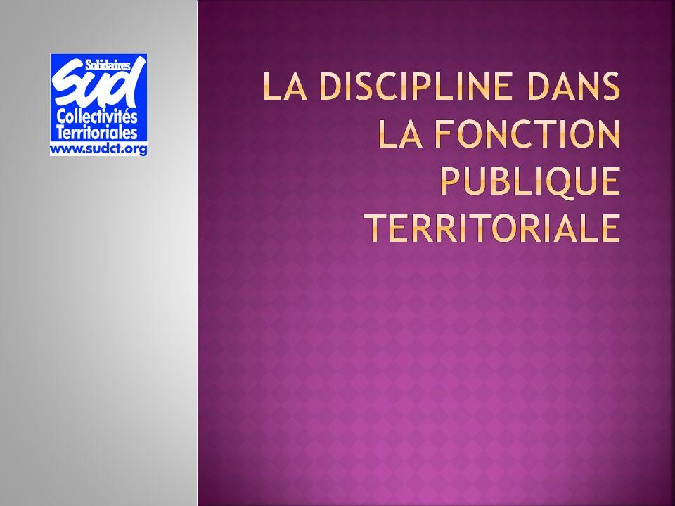 La discipline dans la fonction publique territoriale ppt - Grille d avancement fonction publique territoriale ...
