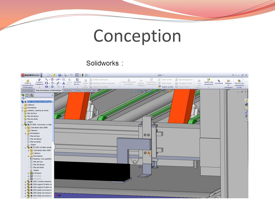 Conception Solidworks :