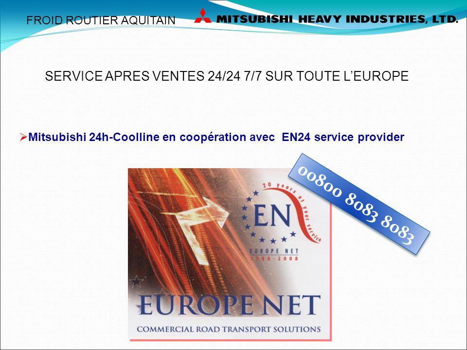 00800 8083 8083 SERVICE APRES VENTES 24/24 7/7 SUR TOUTE L'EUROPE
