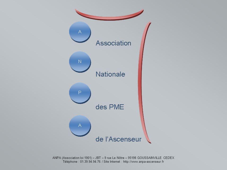 ANPA (Association loi 1901) – JBT – 9 rue Le Nôtre – 95198 GOUSSAINVILLE CEDEX