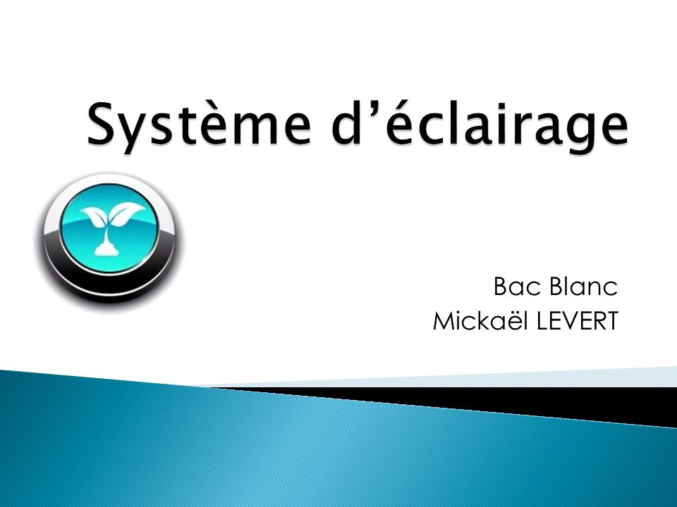 Bac Blanc Mickaël LEVERT