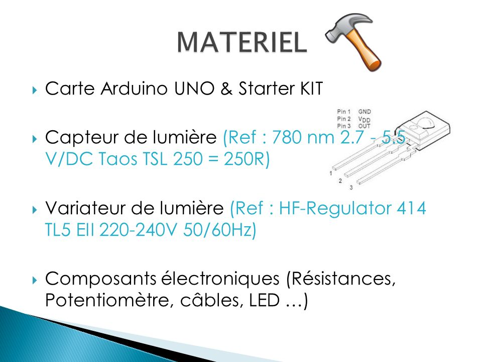 MATERIEL Carte Arduino UNO & Starter KIT