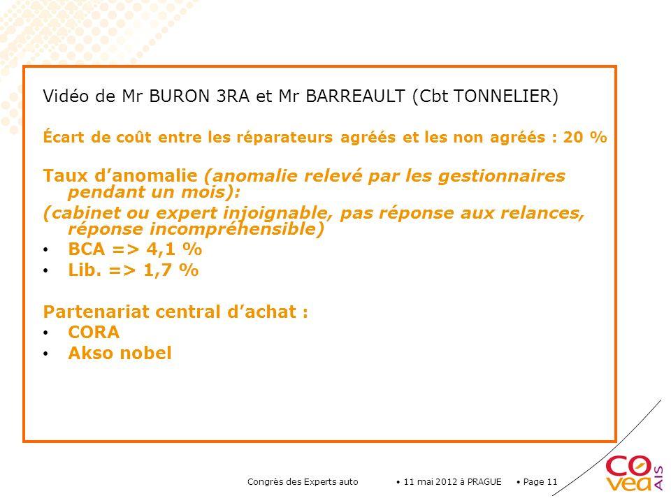 Vidéo de Mr BURON 3RA et Mr BARREAULT (Cbt TONNELIER)
