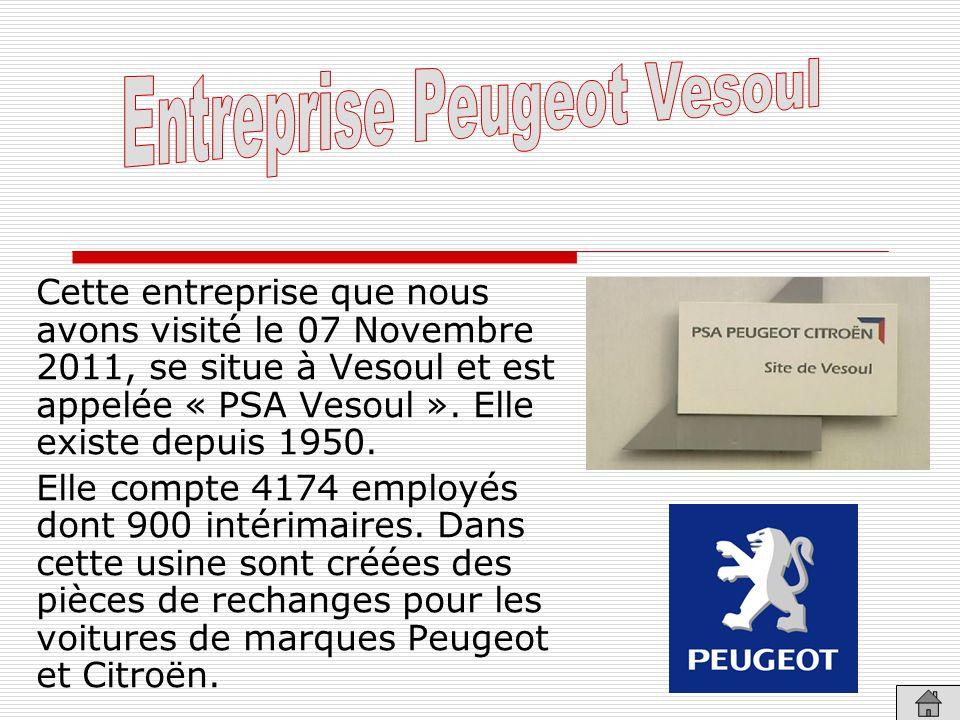 Entreprise Peugeot Vesoul