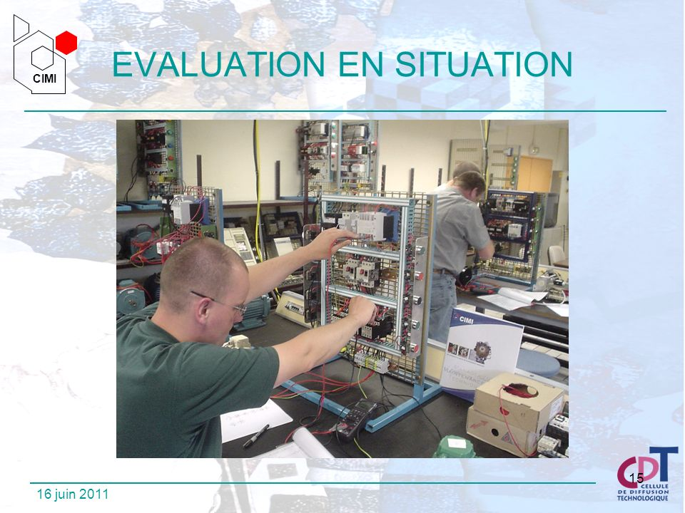 EVALUATION EN SITUATION
