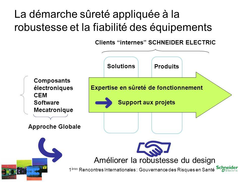 La démarche sûreté appliquée à la robustesse et la fiabilité des équipements