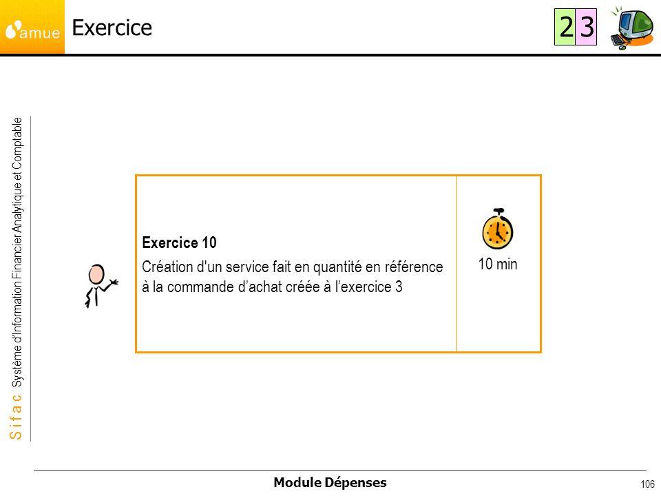 Exercice 2. 3. 10 min. Exercice 10.