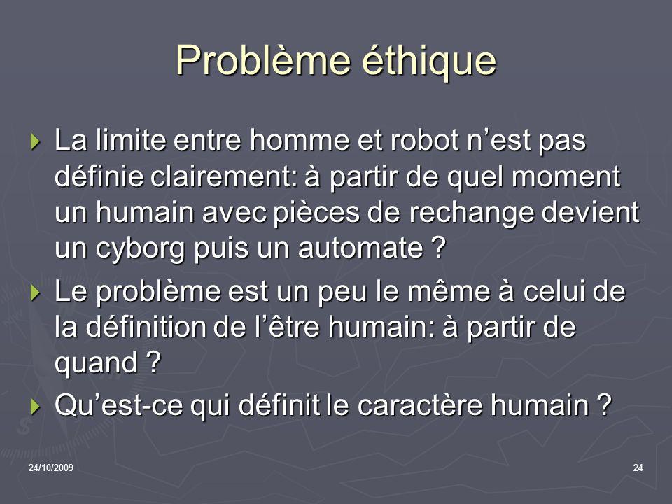 Problème éthique