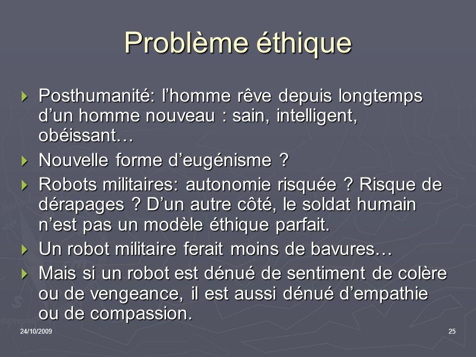Problème éthique Posthumanité: l'homme rêve depuis longtemps d'un homme nouveau : sain, intelligent, obéissant…