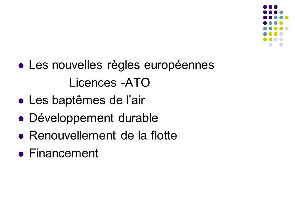 Les nouvelles règles européennes
