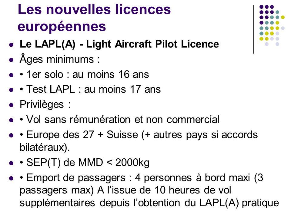 Les nouvelles licences européennes