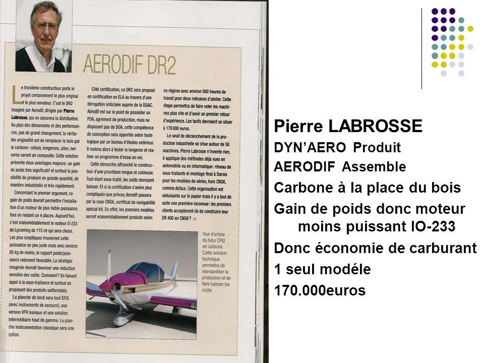 Pierre LABROSSE Carbone à la place du bois