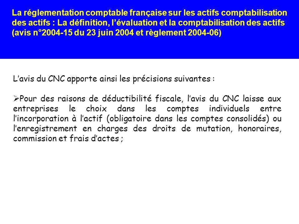 L'avis du CNC apporte ainsi les précisions suivantes :