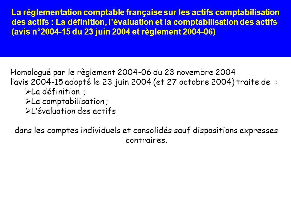 Homologué par le règlement 2004-06 du 23 novembre 2004