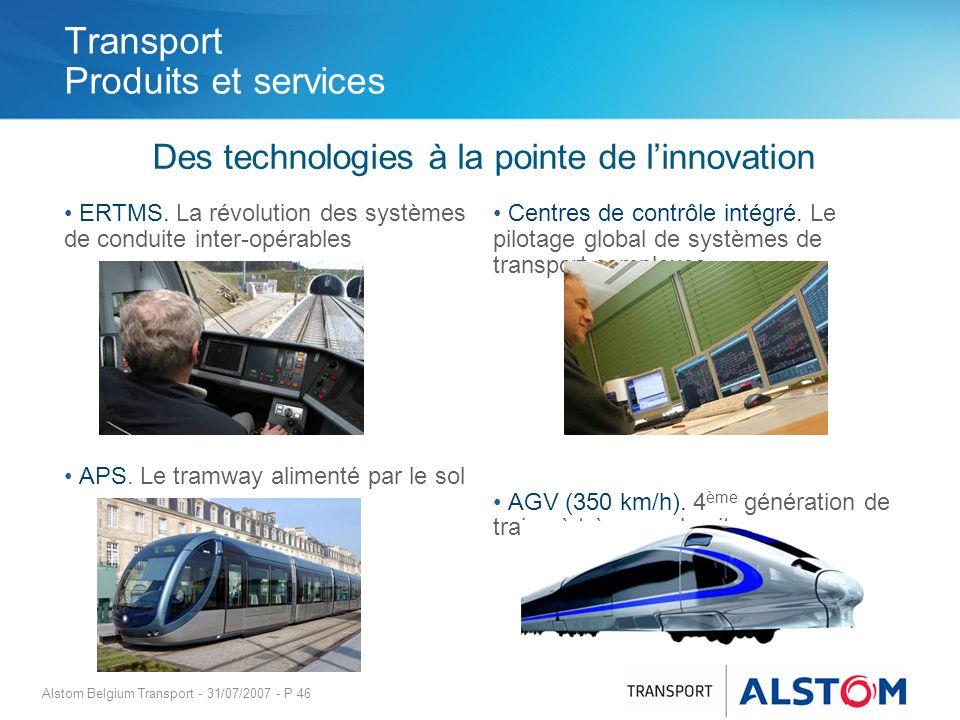 Transport Produits et services