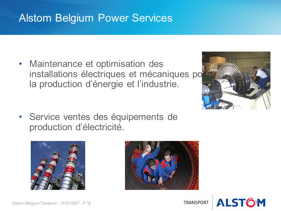 Alstom Belgium Power Services