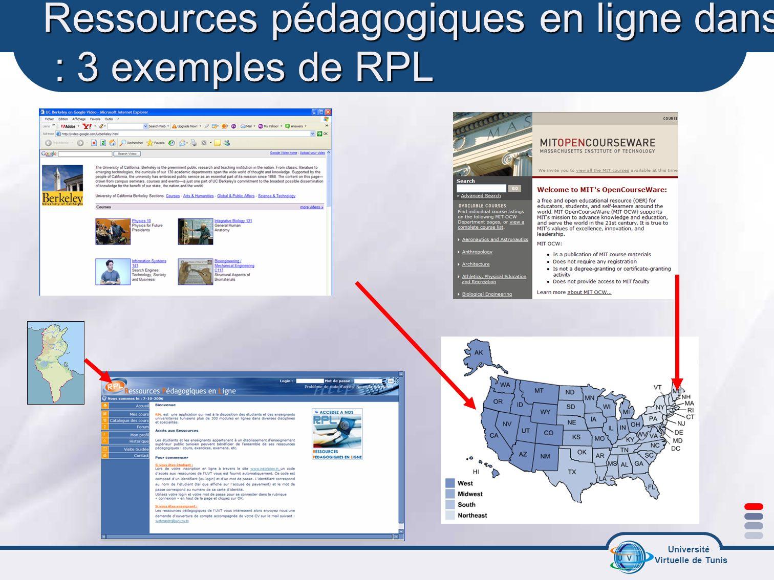 Ressources pédagogiques en ligne dans le monde : 3 exemples de RPL