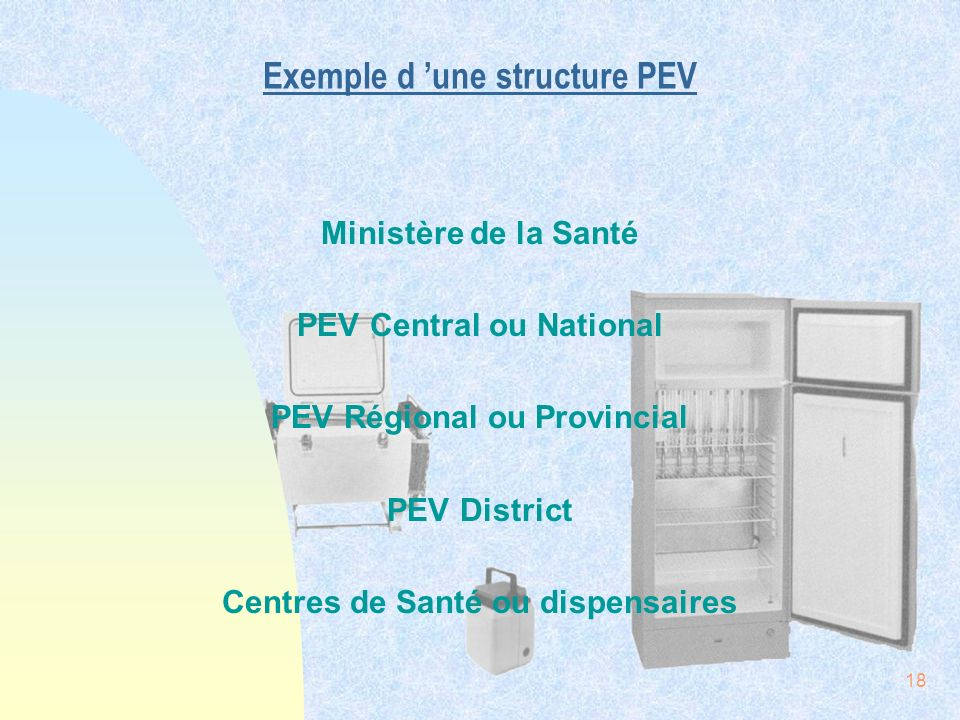 Exemple d 'une structure PEV