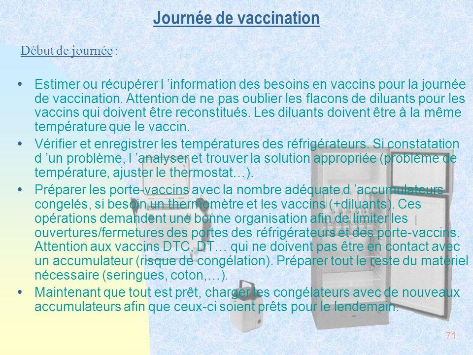 Journée de vaccination