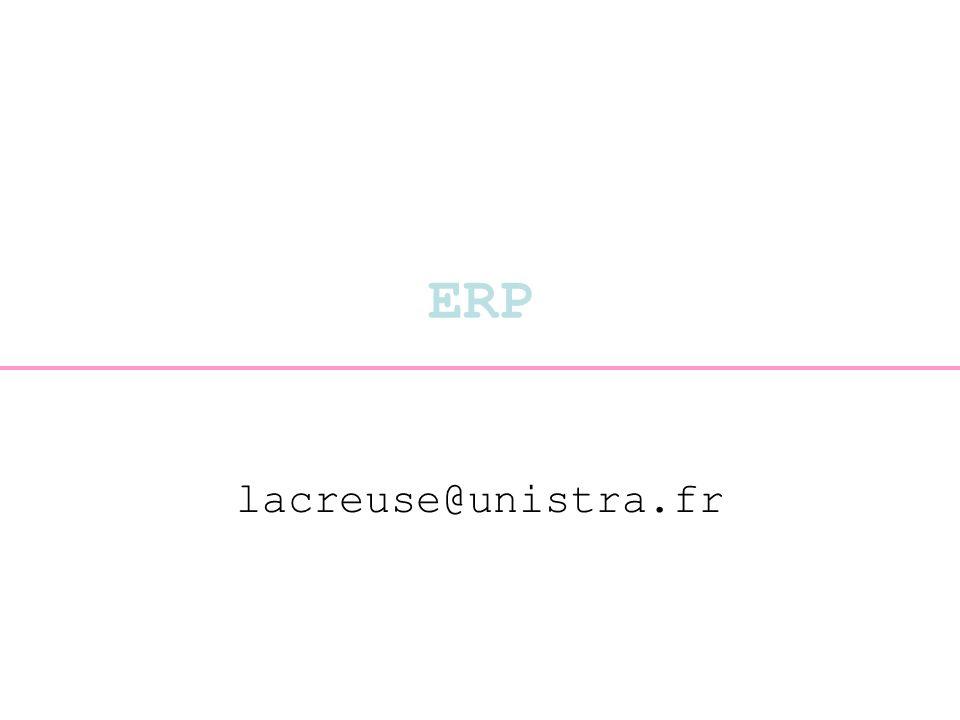 ERP lacreuse@unistra.fr