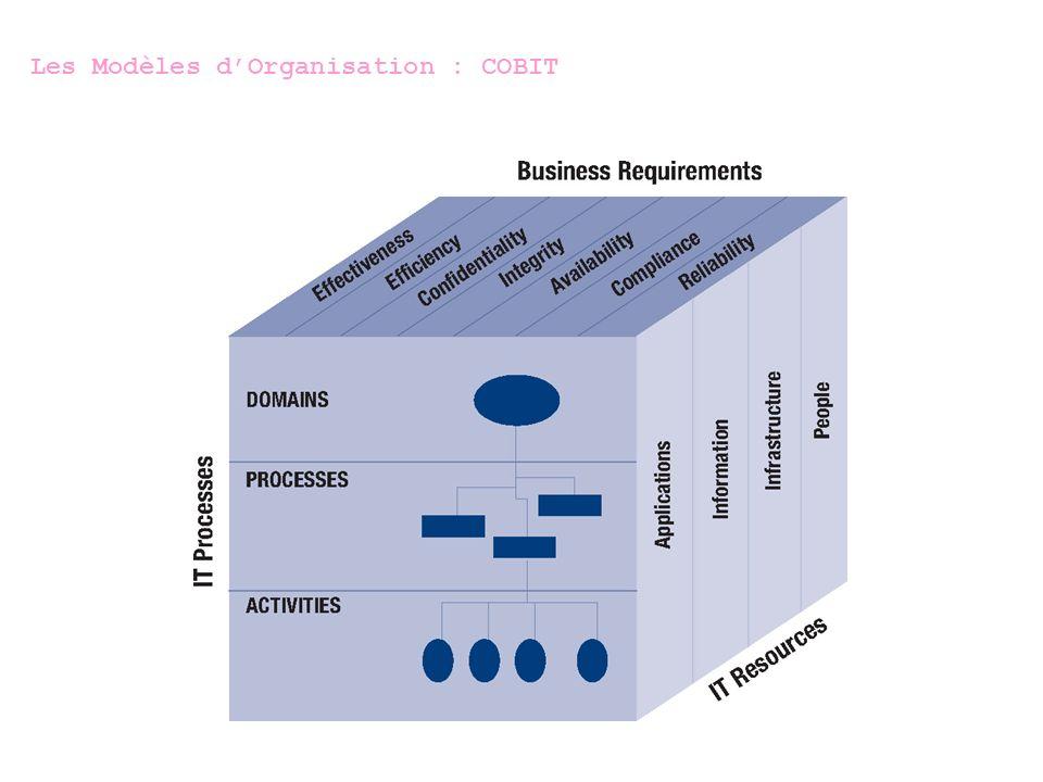 Les Modèles d'Organisation : COBIT