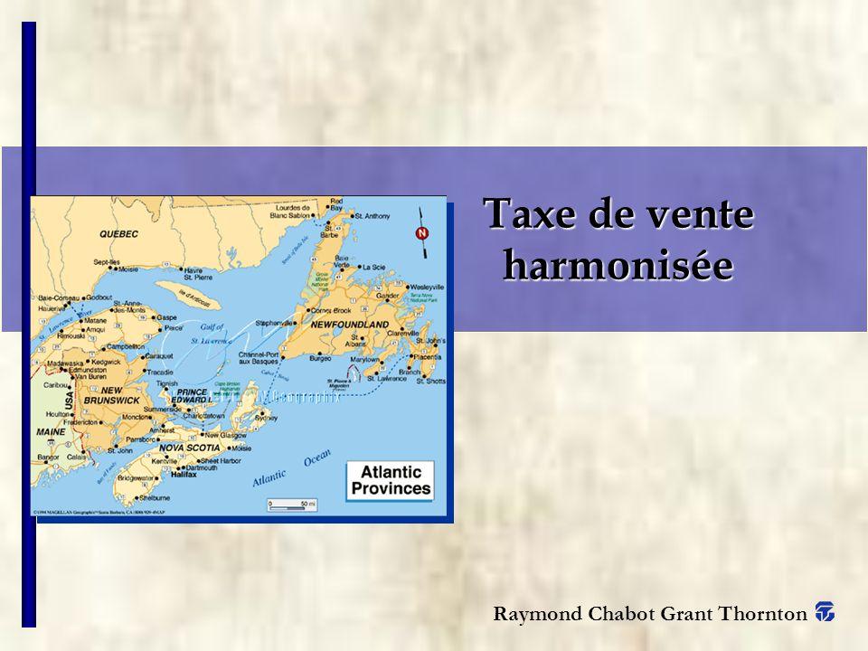 Taxe de vente harmonisée