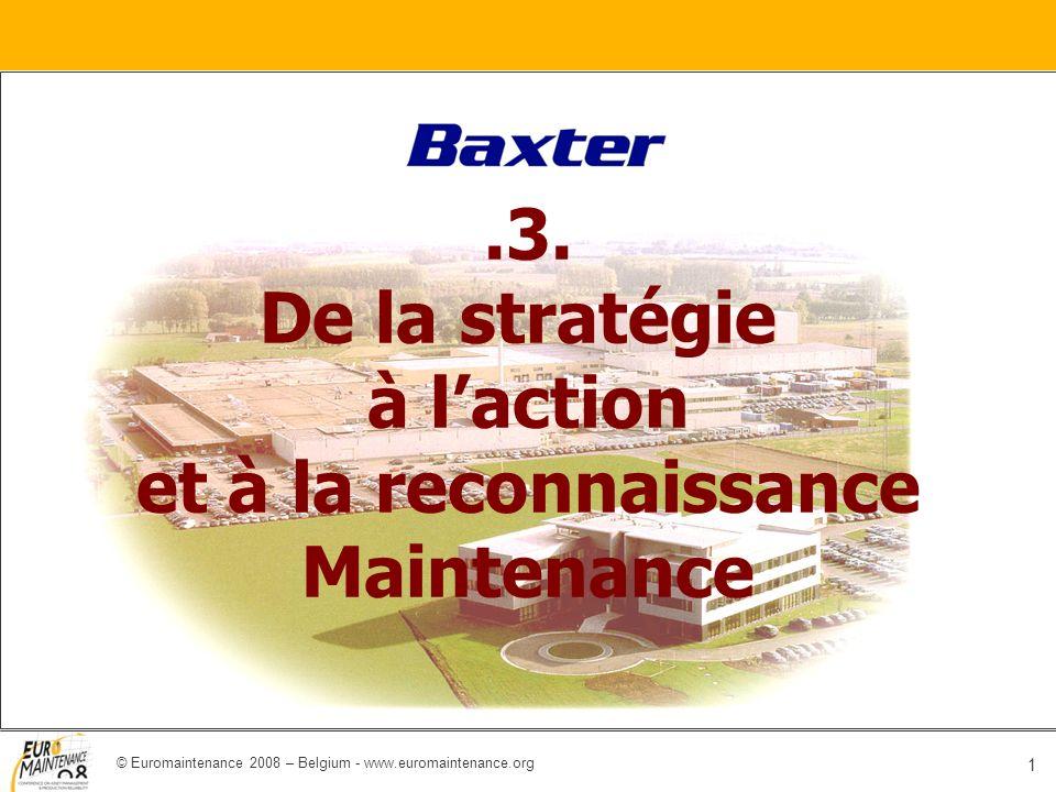 .3. De la stratégie à l'action et à la reconnaissance Maintenance