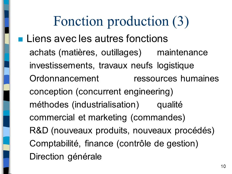 Fonction production (3)