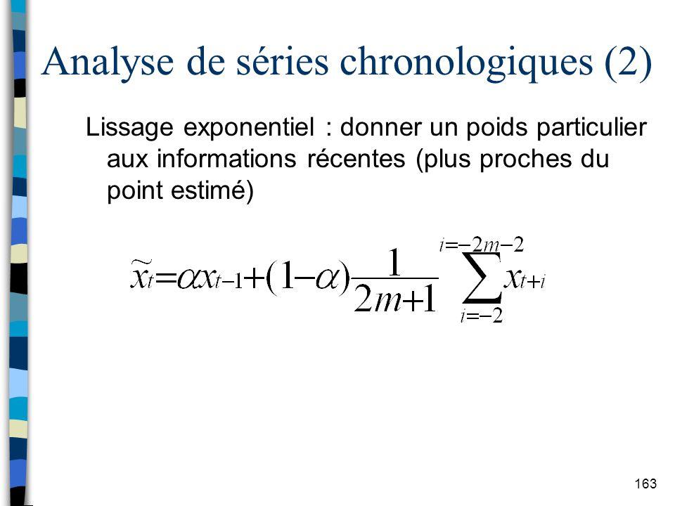 Analyse de séries chronologiques (2)