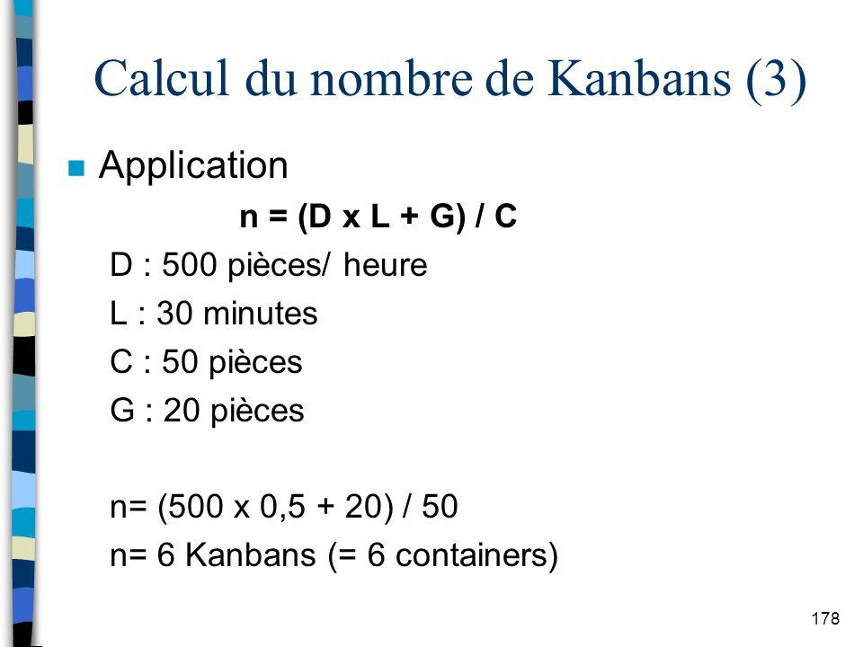 Calcul du nombre de Kanbans (3)