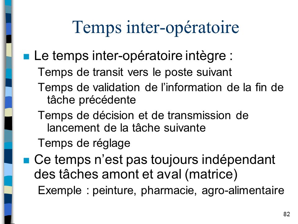 Temps inter-opératoire