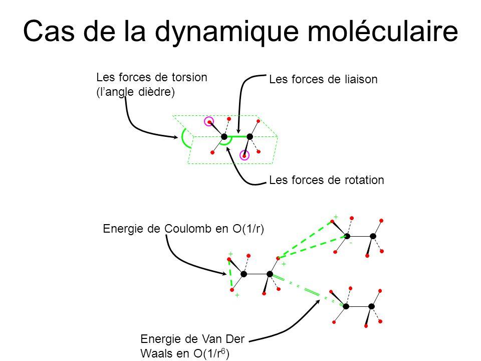 Cas de la dynamique moléculaire