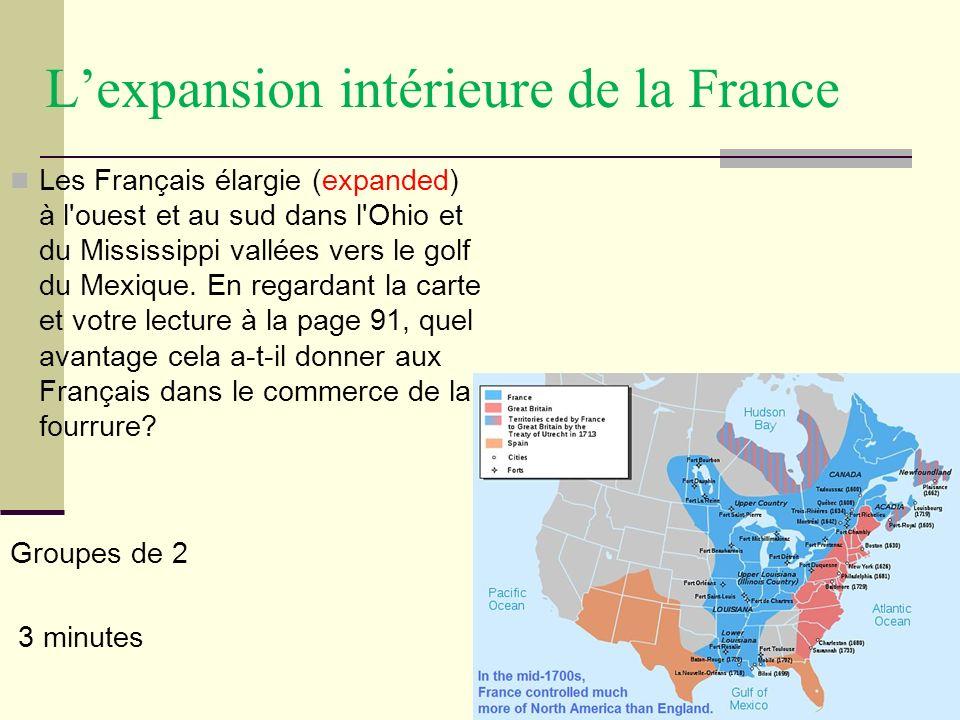 L'expansion intérieure de la France