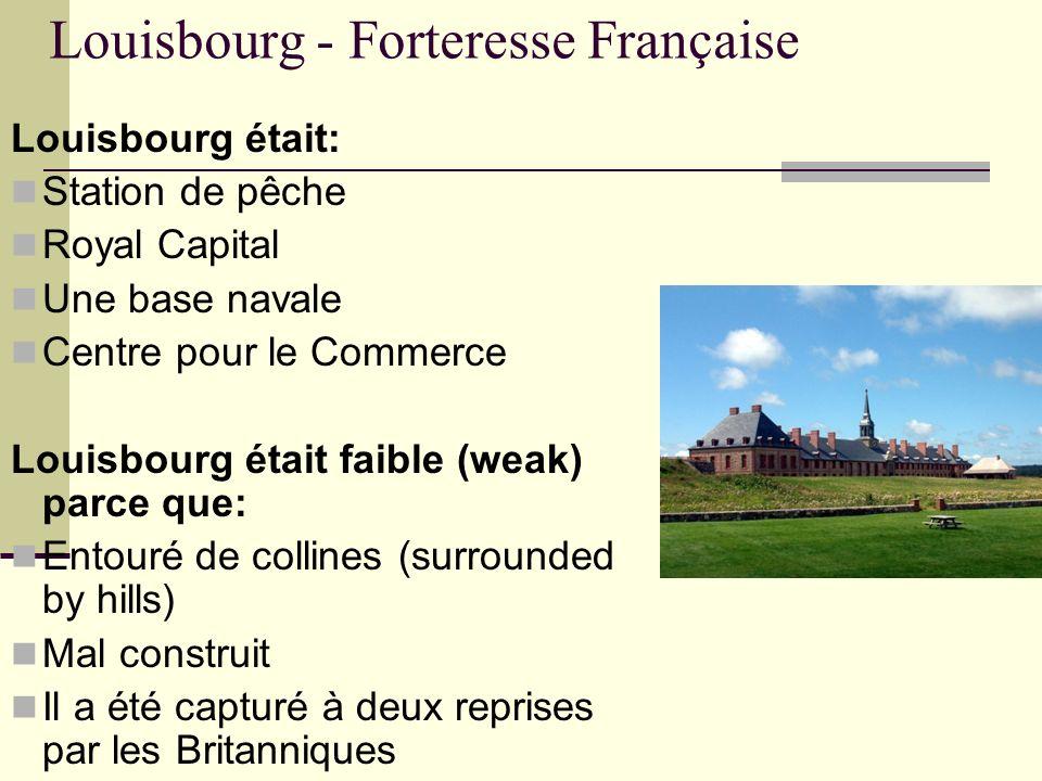 Louisbourg - Forteresse Française