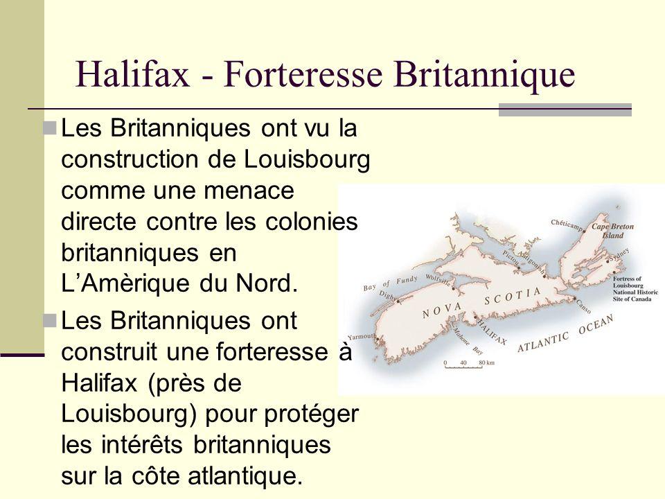 Halifax - Forteresse Britannique