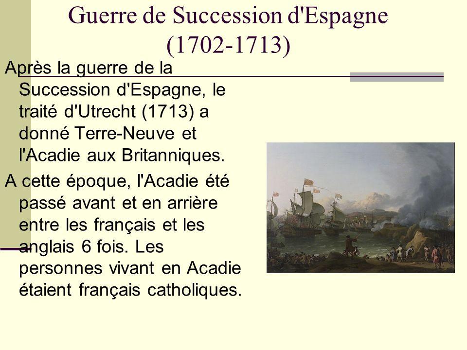 Guerre de Succession d Espagne (1702-1713)