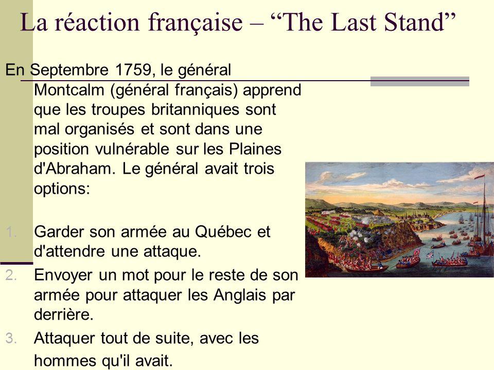 La réaction française – The Last Stand