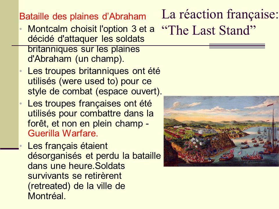 La réaction française: The Last Stand