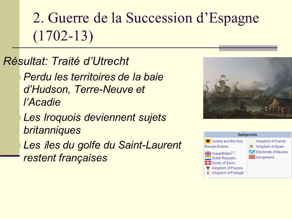 2. Guerre de la Succession d'Espagne (1702-13)