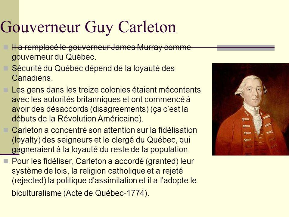 Gouverneur Guy Carleton