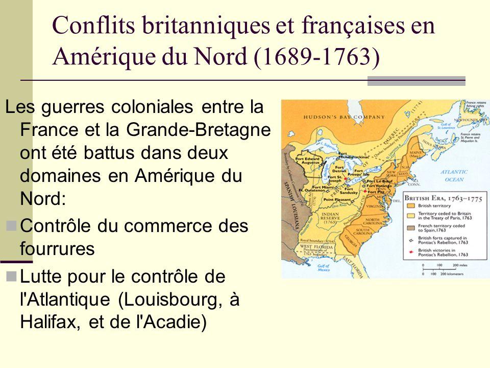 Conflits britanniques et françaises en Amérique du Nord (1689-1763)