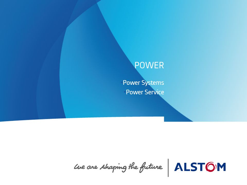 Power Systems Power Service